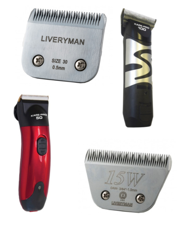 CLIPPERS, TRIMMERS & BLADES