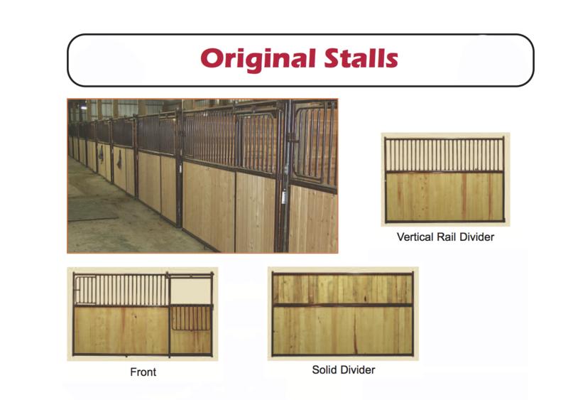 ORIGINAL HORSE STALLS