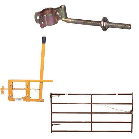 STEEL FARM GATES AND HARDWARE
