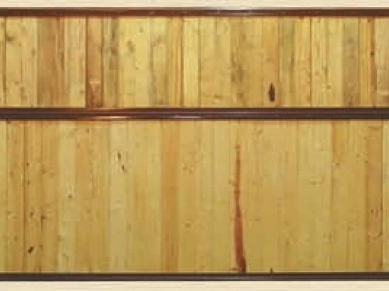 a 10' hiqual solid horse stall divider