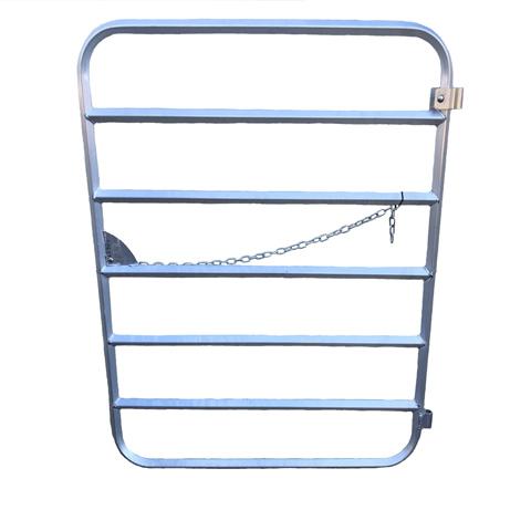 7 bar 4 ft Aluminum gate