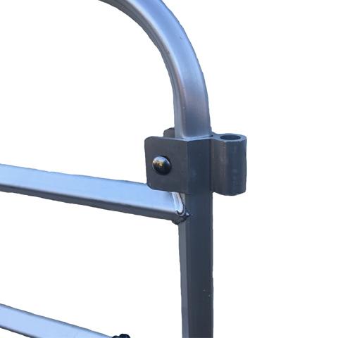 Bolt on Gate Hanger for aluminum gate