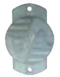Wood/ Tee Post Claw Insulator
