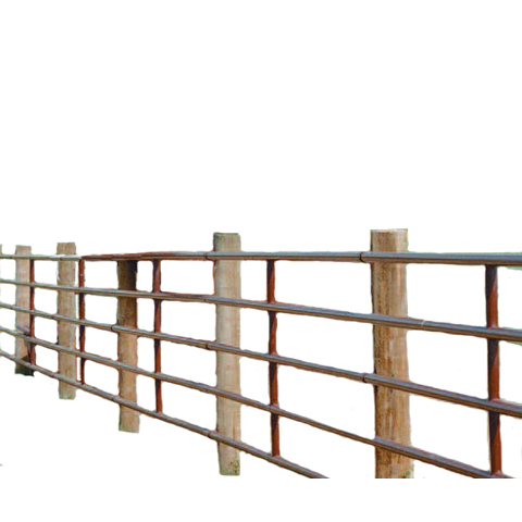 """2"""" Continuous Fence installed"""