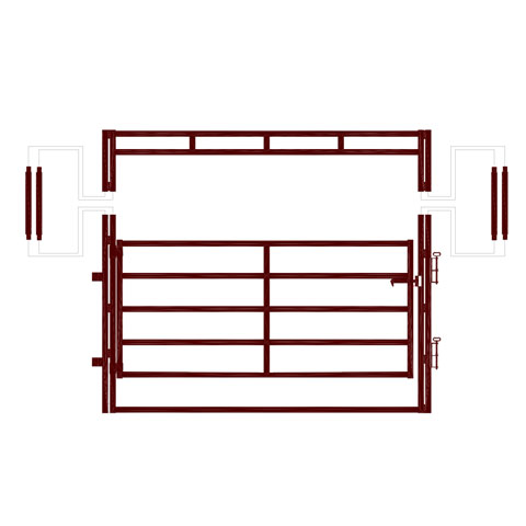 Heavy Duty Frame Gate Extender