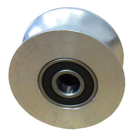 Stall roller bearing side view