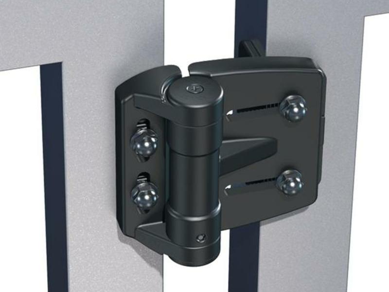Trueclose Mini Multi Adjust Round Hinge