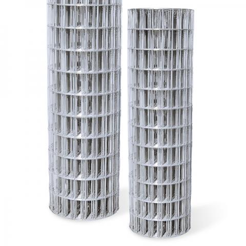 Galvanized Utility Fence