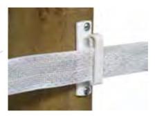 Wood Post Tape Insulators