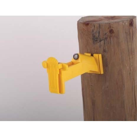 Wood Post Tape Insulator Extended
