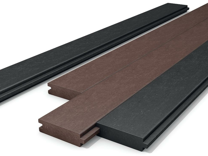 Tongue and groove board Black