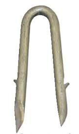 Single Barb Galvanized Fence Staple